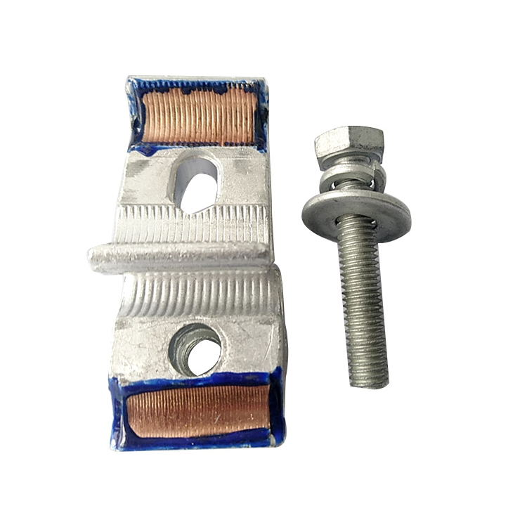 CAPG-A2 Bolt Type Bimetallic Aluminum And Copper Parallel Groove Clamp
