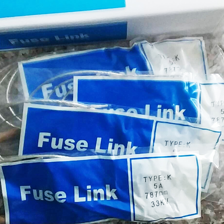 12-27kv Length 584mm 5A Various Removable Button Head K Type Fuse Elements Fuse Links