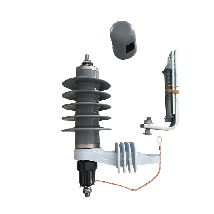 12kv Outdoor Electrical Equipment Metal Oxide Lightning Surge Arrester